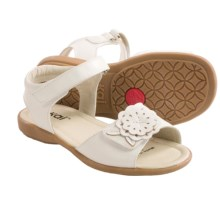 See Kai Run Vickie Sandals - Leather (For Little Girls) in White - Closeouts