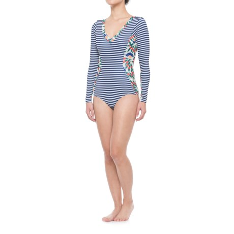 Seea Avila Swimsuit Rash Guard - Long Sleeve (For Women) in Camburi