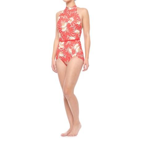 Seea Karina One-Piece Swimsuit (For Women) in Rojas