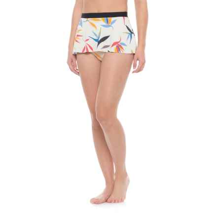 Seea Makala Skirted Brief Bikini Bottoms (For Women) in Oasis - Closeouts