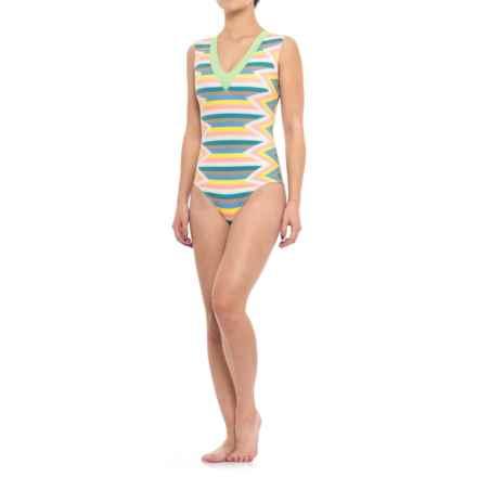 Seea Rhea One-Piece Swimsuit (For Women) in Azucar - Closeouts