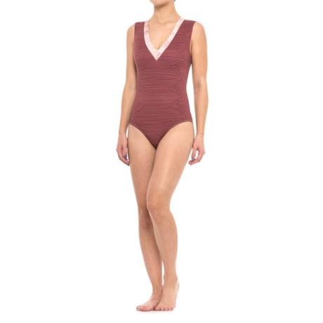 Seea Rhea One-Piece Swimsuit (For Women) in Mezcal