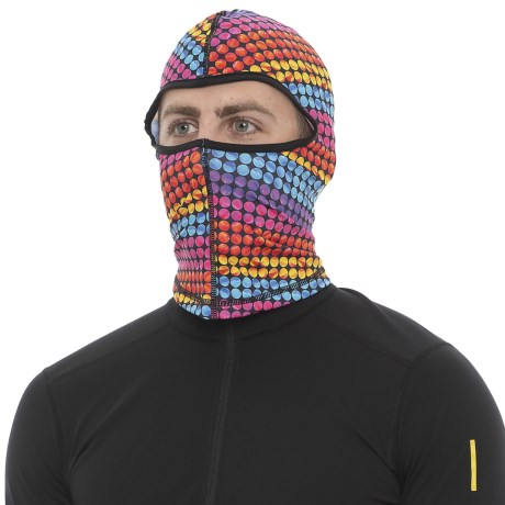 Seirus Dynamax Fleece Balaclava (For Men and Women) in Marbles-Multicolored