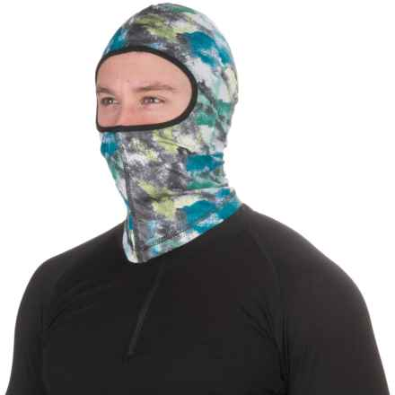 Seirus Dynamax Fleece Balaclava (For Men and Women) in Watercolor Green - Closeouts