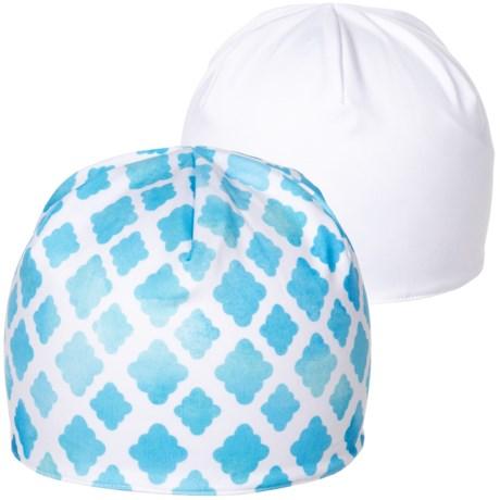 Seirus Dynamax Hat - Reversible (For Women) in White Lattice Aqua 8989e2543cd7