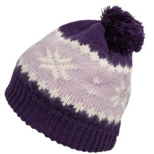 Seirus Fezziwig Pompom Beanie - Fleece Lined (For Men and Women) in Grape/Lavender - Closeouts