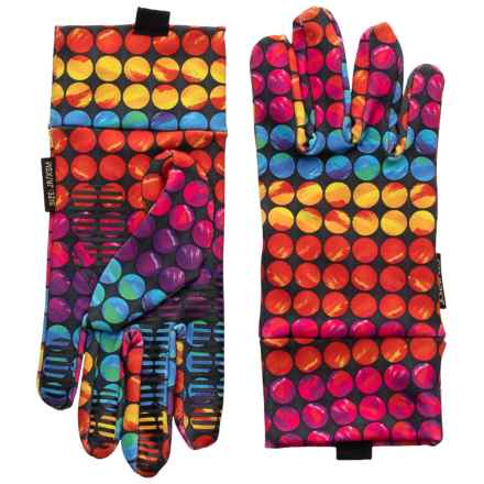 Seirus Jr. Dynamax Printed Glove Liners (For Kids) in Marbles Multi - Closeouts