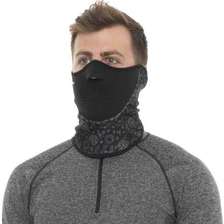 Seirus Neofleece® Combo Scarf Gaiter (For Men and Women) in Kerchief-Black - Closeouts
