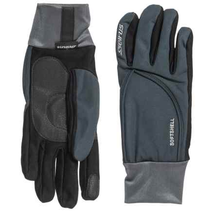 Seirus Soft Shell Lite Gloves (For Women) in Black/Gray - Closeouts