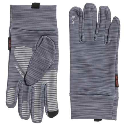 Seirus Soundtouch Dynamax Glove Liners - (For Men and Women) in Striated-Gray - Closeouts