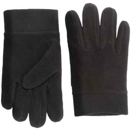 Seirus Sub Zero Fleece Glove Liners (For Men and Women) in Black - Closeouts
