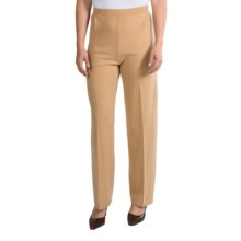 Select Belford Cashmere Pants - Elastic Waist (For Women) in Camel - Closeouts