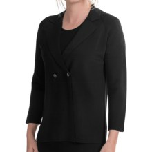 Select Belford Rayon Cardigan Sweater - Double Breasted (For Women) in Black - Closeouts