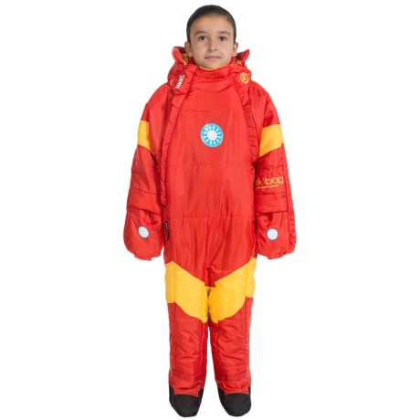 selk'bag 45&degF Marvel Superhero Wearable Sleeping Bag (For Little and Big Kids)