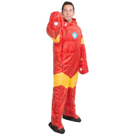 selk'bag 45&degF Marvel Superhero Wearable Sleeping Bag