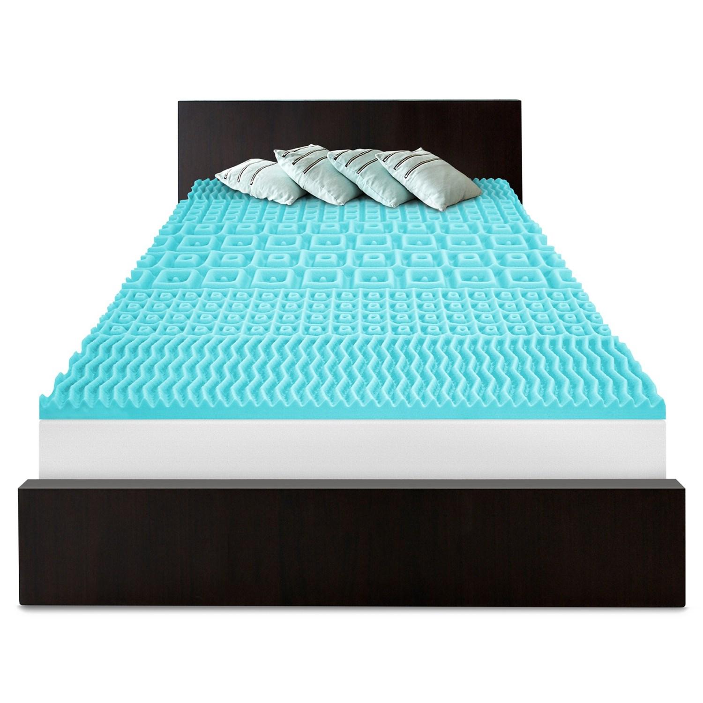 Sensorpedic 5 Zoned Slumber Supreme Mattress Pad King Memory Foam Save 71