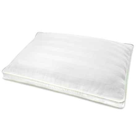 SensorPEDIC Dual Comfort Supreme Pillow - Standard in White - Overstock