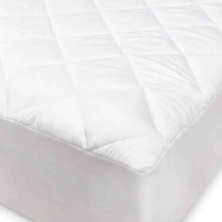 SensorPEDIC Hypoallergenic White Mattress Pad - King in White - Overstock