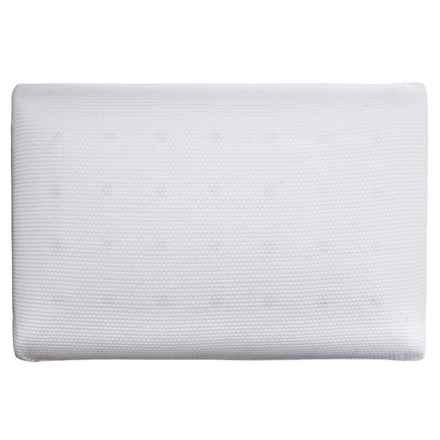 SensorPEDIC Memory-Foam Classic Comfort Pillow - Standard in White - Closeouts