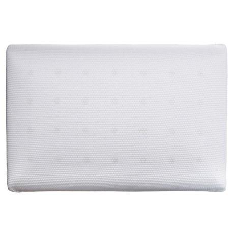 SensorPEDIC Memory-Foam Classic Comfort Pillow - Standard in White