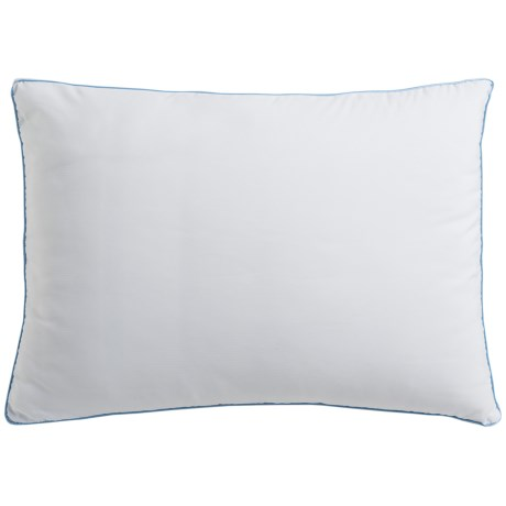 SensorPEDIC Memory-Foam Deluxe Gusseted Bed Pillow - Standard/Queen in White