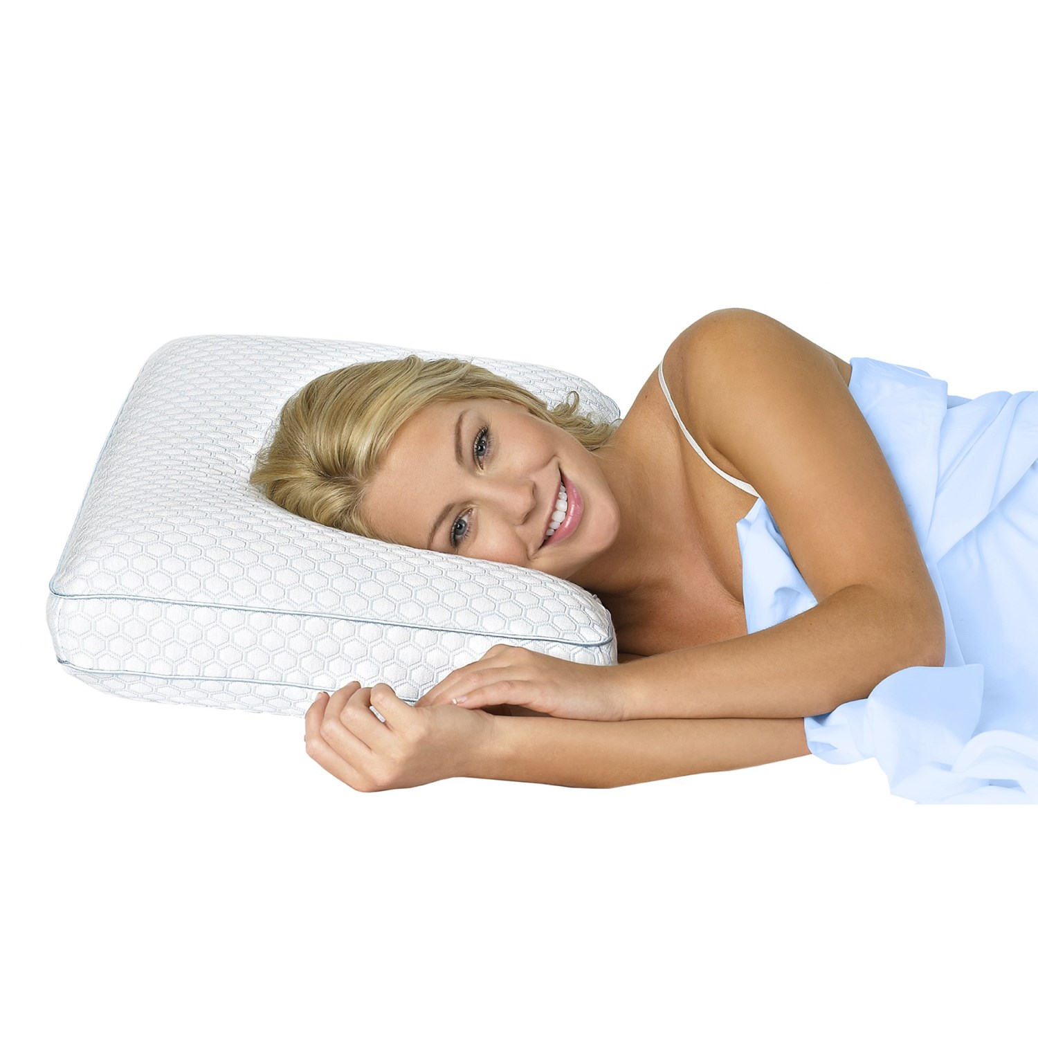 how to fix split memory foam pillow