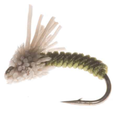 Serendipity Midge Fly - Dozen in Olive - Closeouts