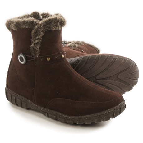 Serene Abilene Ankle Boots (For Women) in Brown