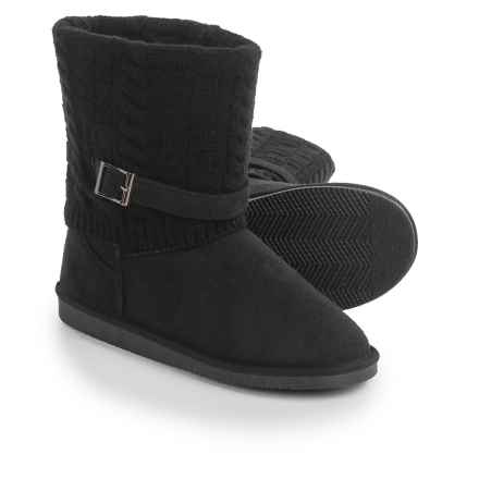 Serene Island Bucky Boots (For Women) in Black - Closeouts