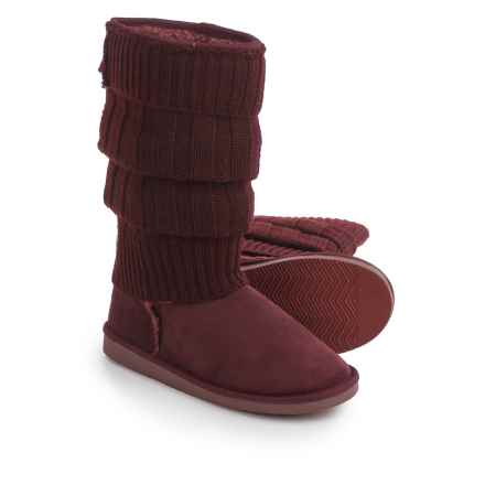 Serene Island Eamonn Tall Boots (For Women) in Burgandy - Closeouts
