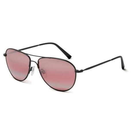 Serengeti Alghero Sunglasses - Polarized, Photochromic Glass Lenses in Satin Black