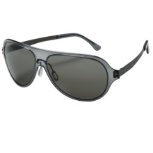 Serengeti Alice Sunglasses - Polarized in Crystal Dark Grey/Phd Cpg - Closeouts