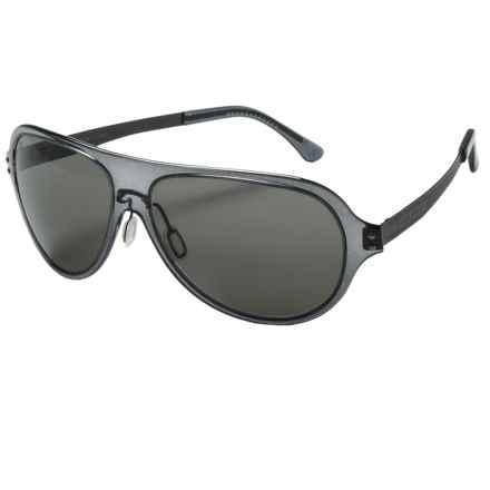 Serengeti Alice Sunglasses - Polarized in Crystal Dark Grey/Phd Cpg - Closeouts