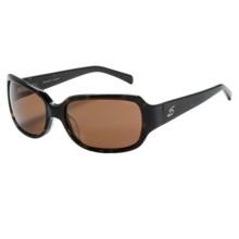 Serengeti Annalisa Sunglasses - Polarized, Photochromic Glass Lenses (For Women) in Brown Tortoise/Drivers - Closeouts