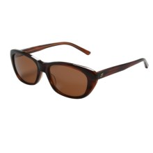 Serengeti Bagheria Sunglasses - Polarized, Photochromic Glass Lenses (For Women) in Dark Tortoise Honey Lam/Drivers - Closeouts