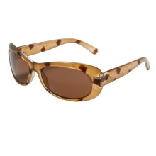 Serengeti Bella Sunglasses - Polarized Glass Lenses (For Women) in Tortoise/Drivers - Closeouts