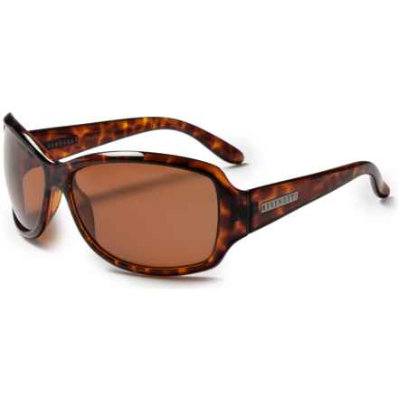 Serengeti Brea Sunglasses - Polarized (For Women) in Tortoise/Drivers - Closeouts