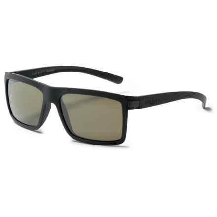 Serengeti Brera Sunglasses - Polarized, Photochromic Glass Lenses in Sanded Dark Gray/Photochromic Polarized 555Nm - Closeouts