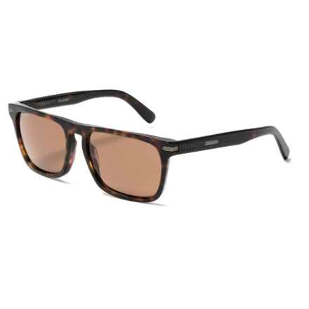 Serengeti Carlo Sunglasses - Polarized, Photochromic Glass Lenses in Dark Havana - Overstock