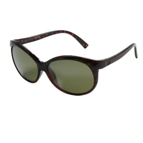 d7809f30f606 Serengeti Caterina Sunglasses - Polarized Glass Lenses (For Women) in Shiny  Red Tortoise