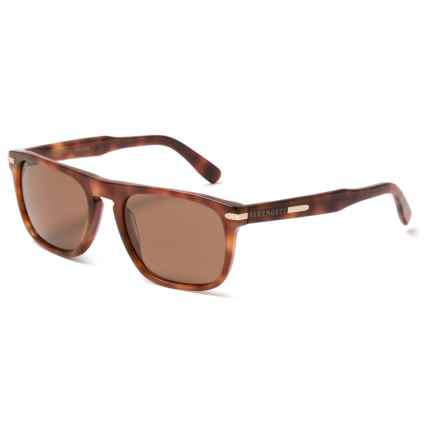 Serengeti Enrico Sunglasses - Polarized, Photochromic Glass Lenses in Butterrum Tortoise - Overstock