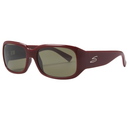 Serengeti Giuliana Sunglasses - Photochromic Glass Lenses (For Women) in Plum/555Nm