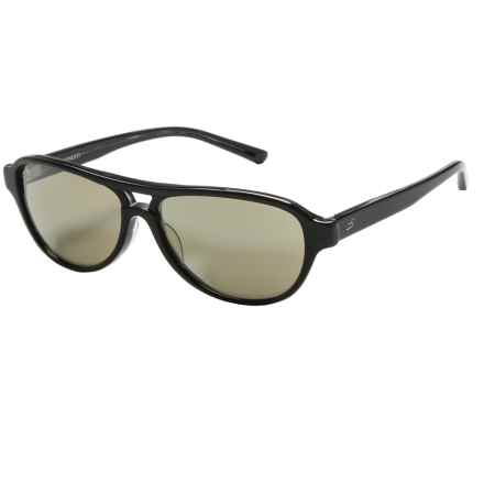 Serengeti Imperia Sunglasses - Photochromic Glass Lenses (For Women) in Black Gray Toroise/555Nm - Closeouts
