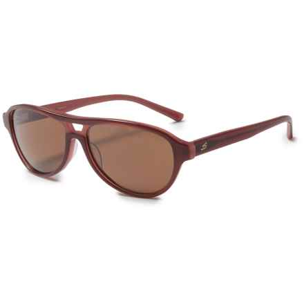 Serengeti Imperia Sunglasses - Polarized Glass Lenses in Wine Lam/Drivers - Closeouts