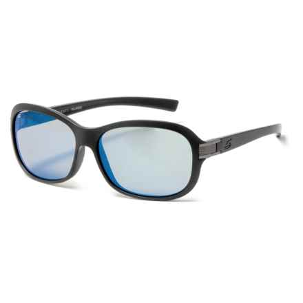 Serengeti Isola Sunglasses - Polarized, Photochromic 555nm Glass Lenses (For Women) in Black Glitter - Overstock