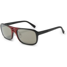 Serengeti Lorenzo Sunglasses - Photochromic, Glass Lenses in Shiny Red Granite/555 Nm - Closeouts
