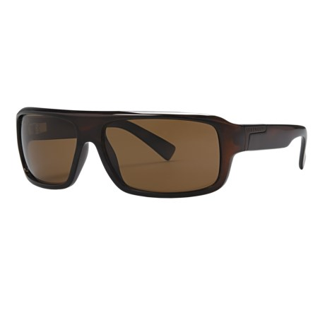 Serengeti Matteo Sunglasses - Polarized, Photochromic Glass Lenses in Amber Tortoise/Drivers