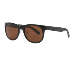 Serengeti Milano Sunglasses - Polarized, Photochromic Glass Lenses in Shiny Black/Drivers