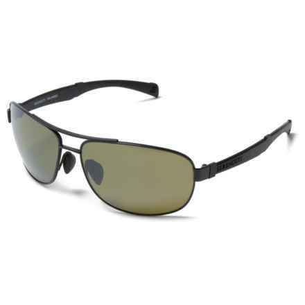 Serengeti Norcia Sunglasses - Polarized, Photochromic in Black/Black - Closeouts