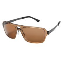 Serengeti Nunzio Sunglasses - Polar PhD Photochromic Lenses in Crystal Photo/Driver - Closeouts